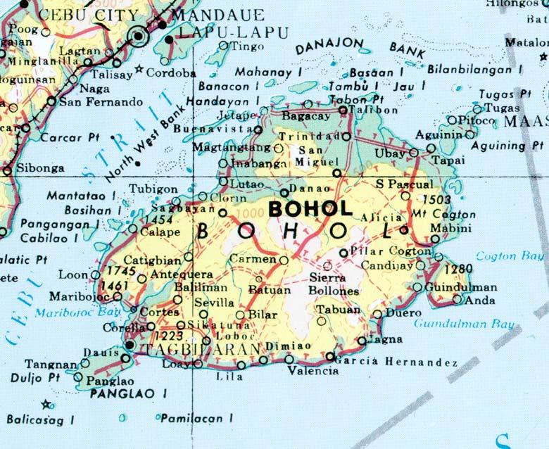 bohol-map
